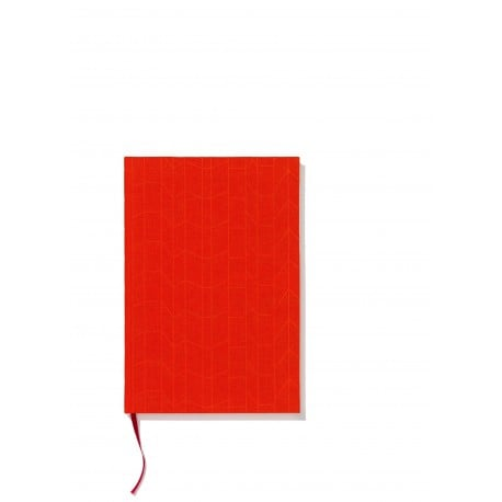 Notebook hardcover A5 Graph tangerine/magenta - Furniture by Designcollectors