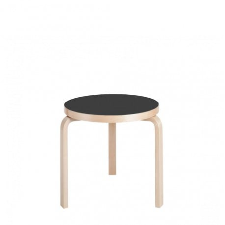 90C Table Height 60 - Artek - Alvar Aalto - Furniture by Designcollectors