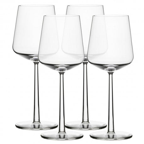 Essence red wine glass 4 pcs + 4 pcs for free - Iittala - Alfredo Häberli - Furniture by Designcollectors