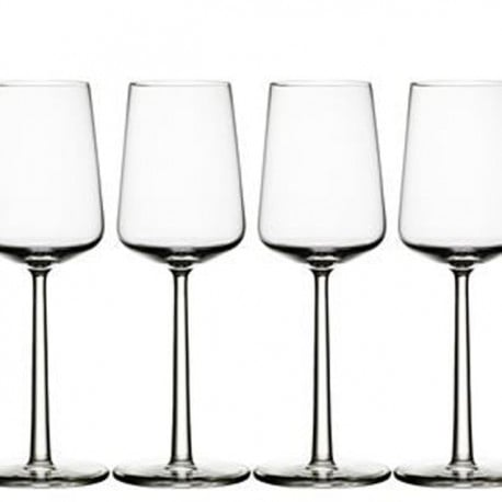 Essence white wine glass 4 pcs - Iittala - Alfredo Häberli - Furniture by Designcollectors