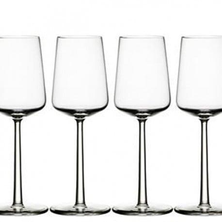 Essence white wine glass 4 pcs - Iittala - Alfredo Häberli - Outside Accessories - Furniture by Designcollectors