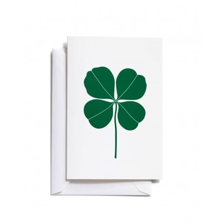 Greeting Card Four Leaf Clover - vitra - Alexander Girard - Accessories - Furniture by Designcollectors