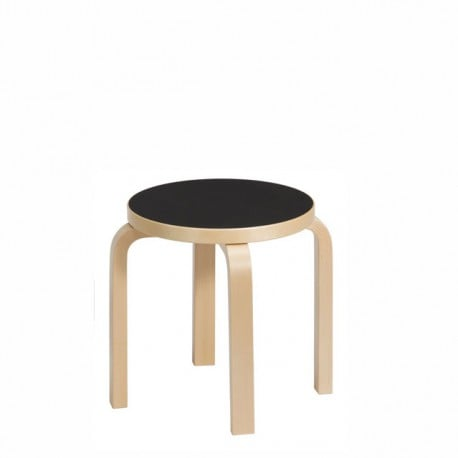 NE60 Children's Stool 4 Legs - Artek - Alvar Aalto - Furniture by Designcollectors
