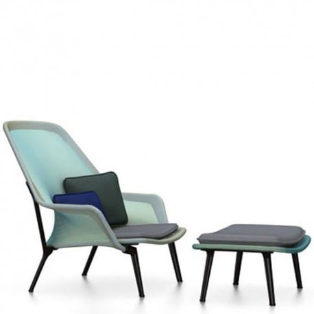 Slow Chair Ottoman - Vitra - - Arm-lounge-chairs - Furniture by Designcollectors