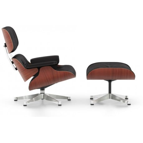 Lounge Chair & Ottoman (classic dimensions) - vitra - Charles & Ray Eames - Chairs - Furniture by Designcollectors