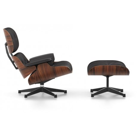Lounge Chair & Ottoman (classic dimensions) - vitra - Charles & Ray Eames - Arm-lounge-chairs - Furniture by Designcollectors