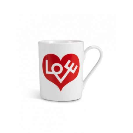 Coffee Mug Love Heart: Red - vitra - Alexander Girard - Back to school - Furniture by Designcollectors