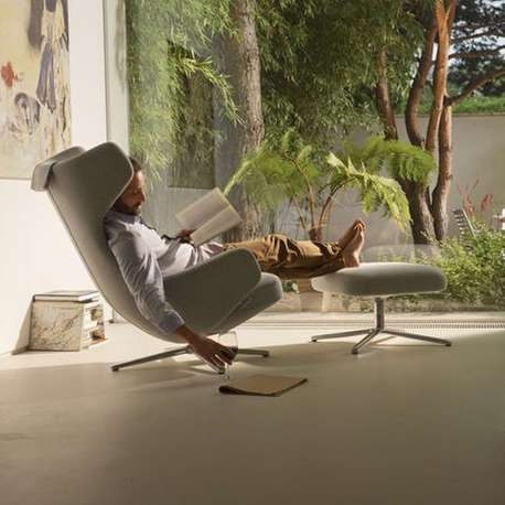 Grand Repos & Ottoman - vitra - Antonio Citterio - Home - Furniture by Designcollectors