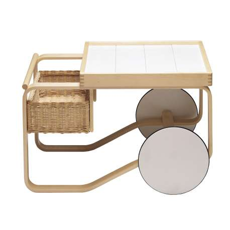 900 Tea Trolley Chariot à thé - artek - Alvar Aalto - Aalto korting 10% - Furniture by Designcollectors