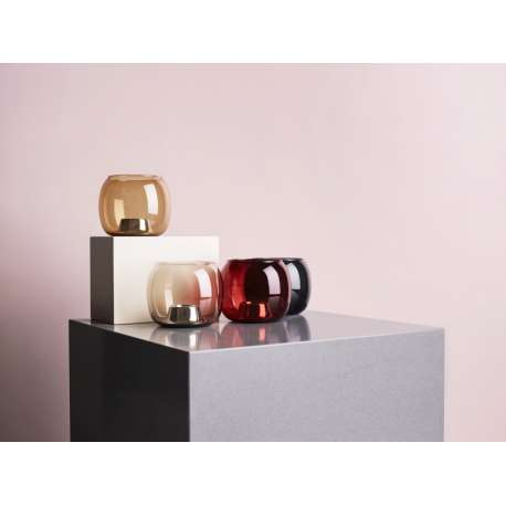 Kaasa Tealight Candleholder 141 x 115 mm Grey - Iittala - Ilkka Suppanen - Home - Furniture by Designcollectors
