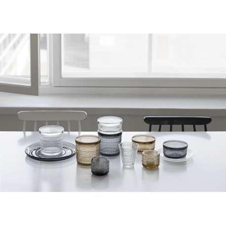 Kastehelmi Jar 116 x 57 mm Grey - Iittala - Oiva Toikka -  - Furniture by Designcollectors