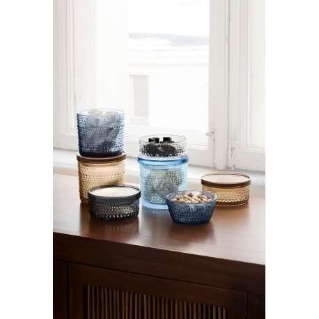 Kastehelmi Jar 116 x 57 mm Grey - Iittala - Oiva Toikka - Home - Furniture by Designcollectors