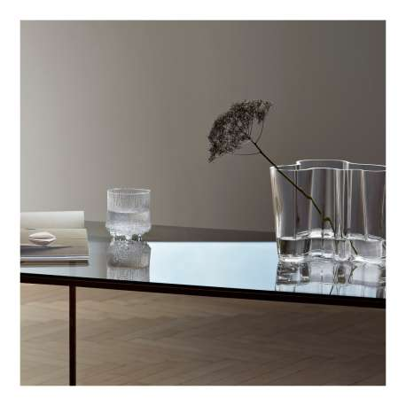 Alvar Aalto Collection Vase 160 mm + 95 mm Clear - Iittala - Alvar Aalto - Accessories - Furniture by Designcollectors