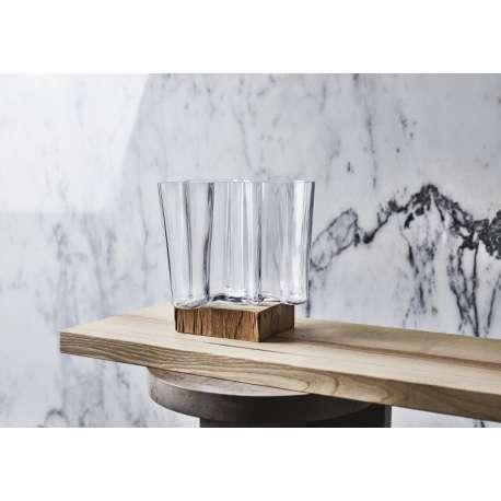 Alvar Aalto Collection Vase 160mm+95mm Clear - Iittala - Alvar Aalto - Accessories - Furniture by Designcollectors
