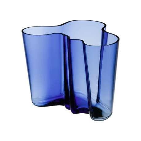 Alvar Aalto Collection Vase 160 mm ultramarine - Iittala - Alvar Aalto - Furniture by Designcollectors