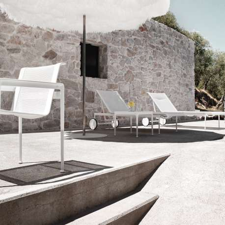 Schultz Adjustable Chaise Lounge Outdoor - Knoll - Richard Schultz - Chairs - Furniture by Designcollectors