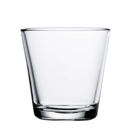 Kartio Glass 21cl clear - 2 pcs - Iittala - Kaj Franck - Accessories - Furniture by Designcollectors
