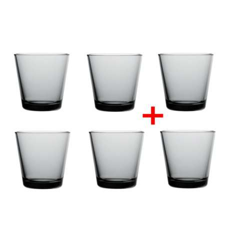 Kartio Glass 21cl - 4 + 2 for free - Iittala - Kaj Franck - Furniture by Designcollectors