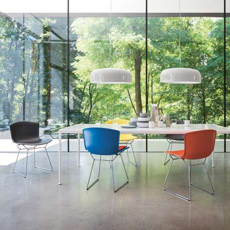 Bertoia Plastic Side Chair Chaise - Knoll - Harry Bertoia - Chaises - Furniture by Designcollectors