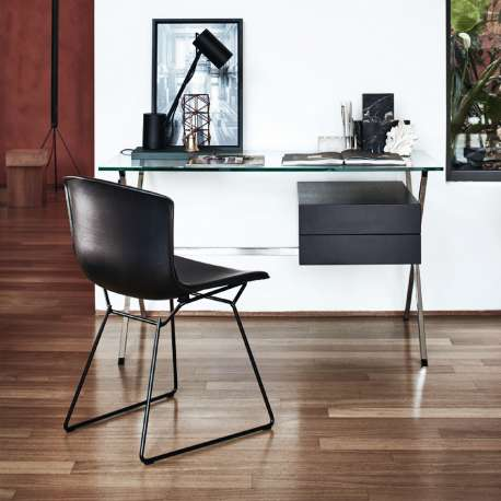 Bertoia Side Chair in cowhide - Knoll - Harry Bertoia - Chairs - Furniture by Designcollectors