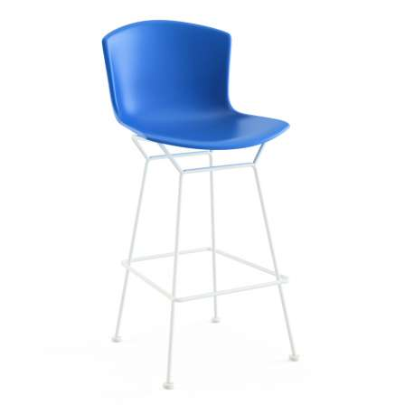 Bertoia Plastic Bar Stool - Knoll - Harry Bertoia - Chairs - Furniture by Designcollectors