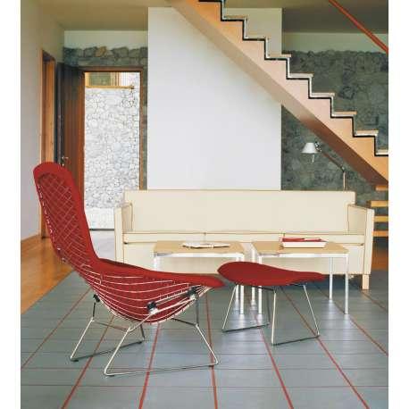 Bertoia High Back Armchair Fauteuil avec revêtement - Knoll -  - Chaises - Furniture by Designcollectors