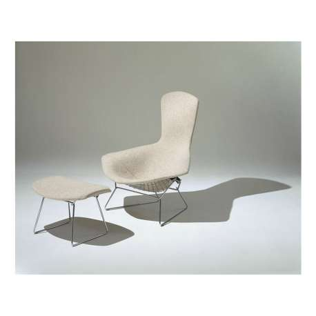 Bertoia High Back Ottoman Upholstered - Knoll - Harry Bertoia - Chairs - Furniture by Designcollectors