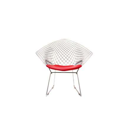 Bertoia Diamond Armchair unupholstered: Outdoor - Knoll - Harry Bertoia - Chairs - Furniture by Designcollectors