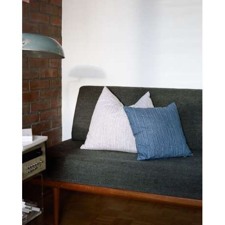 Rivi Cushion Cover Blue/White - 40x40 - artek -  - Textiles - Furniture by Designcollectors