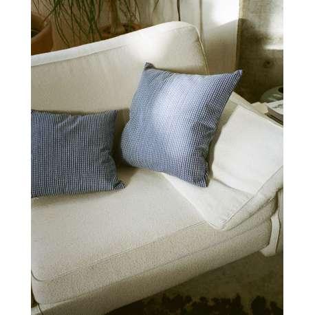 Rivi Cushion Cover Blue/White 50x50 - artek -  - Textiles - Furniture by Designcollectors