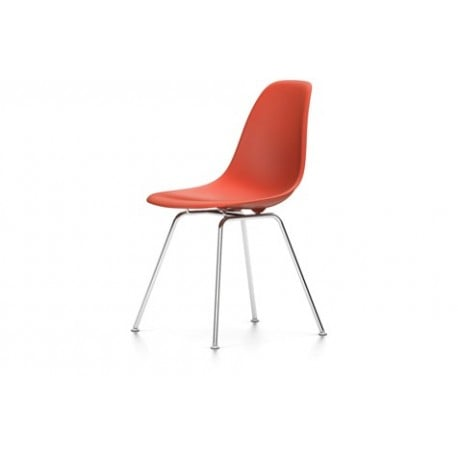 Eames Plastic Chair DSX without upholstery - vitra - Charles & Ray Eames - Dining Chairs - Furniture by Designcollectors