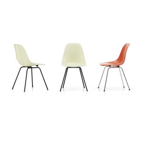 Eames Fiberglass Chairs: DSX Stoel - vitra - Charles & Ray Eames - Fiberglass - Furniture by Designcollectors