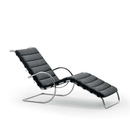 MR adjustable chaise longue - Bauhaus Edition - Knoll - Ludwig Mies van der Rohe - Furniture by Designcollectors