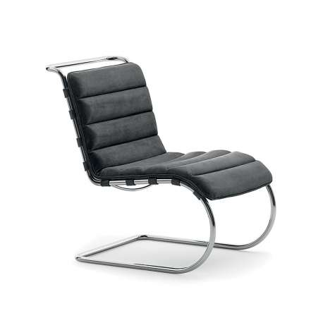 MR Armless chair - Bauhaus Edition - Knoll - Ludwig Mies van der Rohe - Furniture by Designcollectors