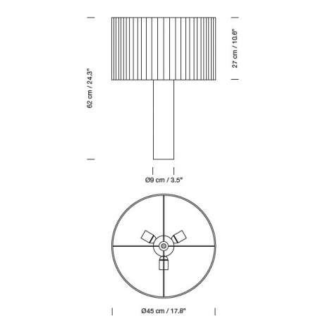 Moragas Floor Lamp / Table Lamp - Santa & Cole - Antoni de Moragas i Galissa - Home - Furniture by Designcollectors