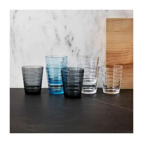 Aino Aalto Glas 22cl Grey - 2 st. - Iittala - Aino Aalto - Outside Accessories - Furniture by Designcollectors