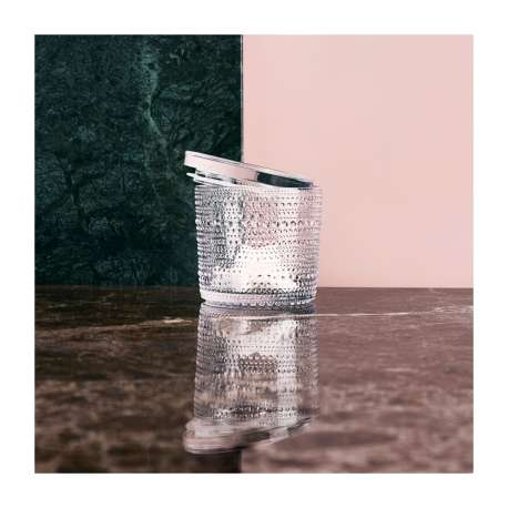 Kastehelmi Jar 116 x 114 mm Clear - Iittala - Oiva Toikka - Home - Furniture by Designcollectors