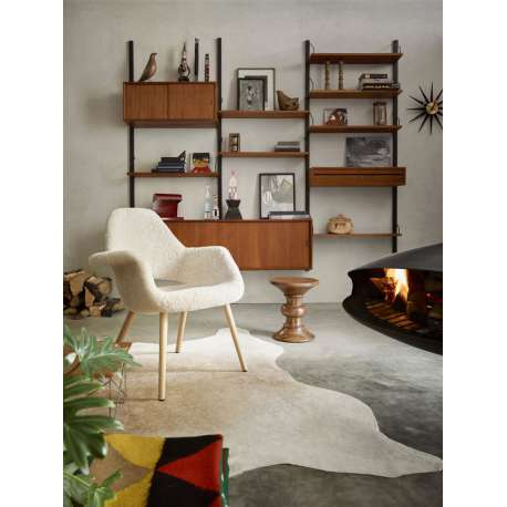 Organic Chair Peau de mouton Moonlight - Limited Edition - vitra - Charles & Ray Eames - Accueil - Furniture by Designcollectors