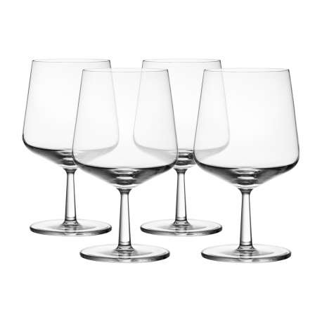 Essence beer glass 48 cl - 4 pcs - Iittala - Alfredo Häberli - Furniture by Designcollectors
