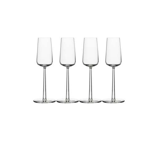 Essence champagneglas 21cl - set van 4 - Iittala - Alfredo Häberli - Decoratieve objecten - Furniture by Designcollectors