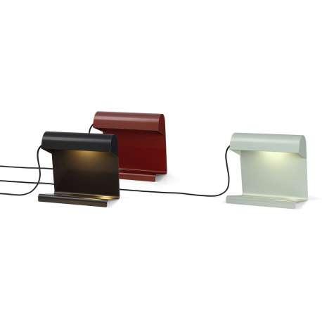 Lampe de Bureau - Rouge japonais - vitra - Jean Prouvé - Korting 15% - Furniture by Designcollectors