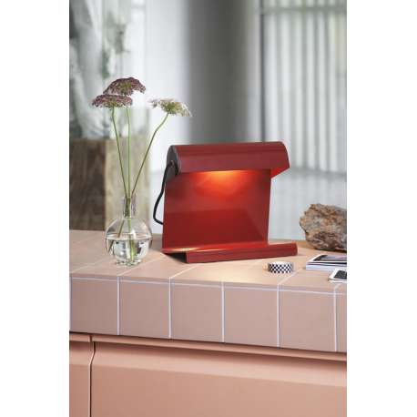 Lampe de Bureau - Japanese Red - vitra - Jean Prouvé - Korting 15% - Furniture by Designcollectors