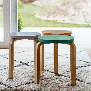 Stool 60 / E60: Special Edition - Set of 3 colours curated by Sofie D'Hoore