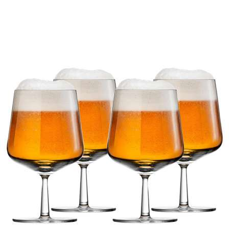 Essence beer glass 48 cl - 4 pcs - Iittala - Alfredo Häberli - Decorative Objects - Furniture by Designcollectors