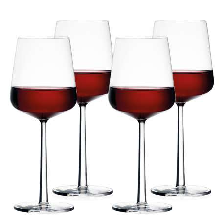 Essence red wine glass 4 pcs - Iittala - Alfredo Häberli - Home - Furniture by Designcollectors