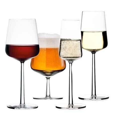 Essence white wine glass 4 pcs + 4 pcs for free - Iittala - Alfredo Häberli - Home - Furniture by Designcollectors