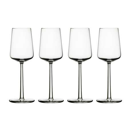 Essence white wine glass 4 pcs + 4 pcs for free - Iittala - Alfredo Häberli - Furniture by Designcollectors