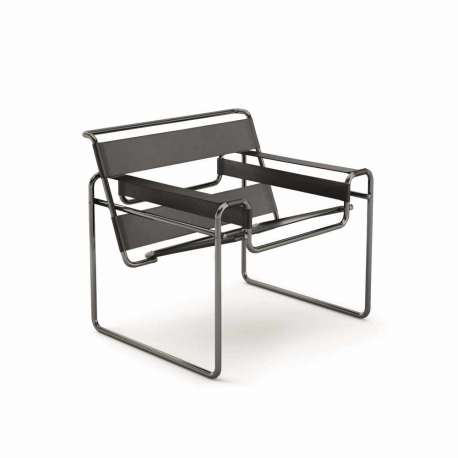 Wassily Lounge Chair - black chrome: limited edition - Knoll - Marcel Breuer - Furniture by Designcollectors