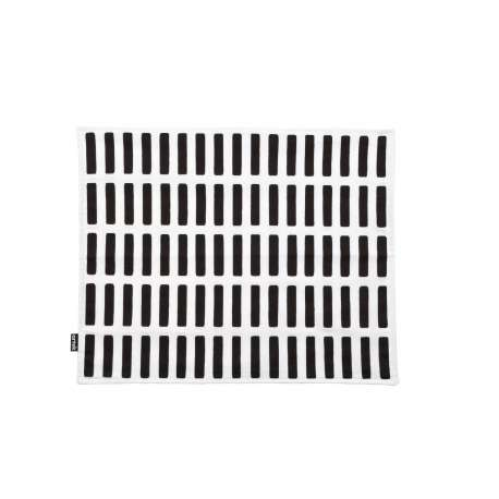 Siena Place Mat White/Black - Artek - Furniture by Designcollectors