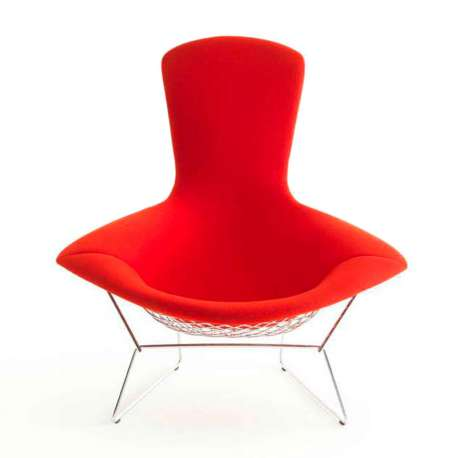 Bertoia High Back Armchair - Knoll - Furniture by Designcollectors